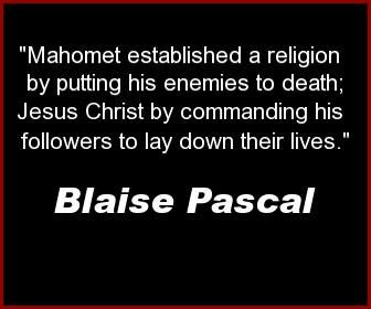 islam blaise pascal quote